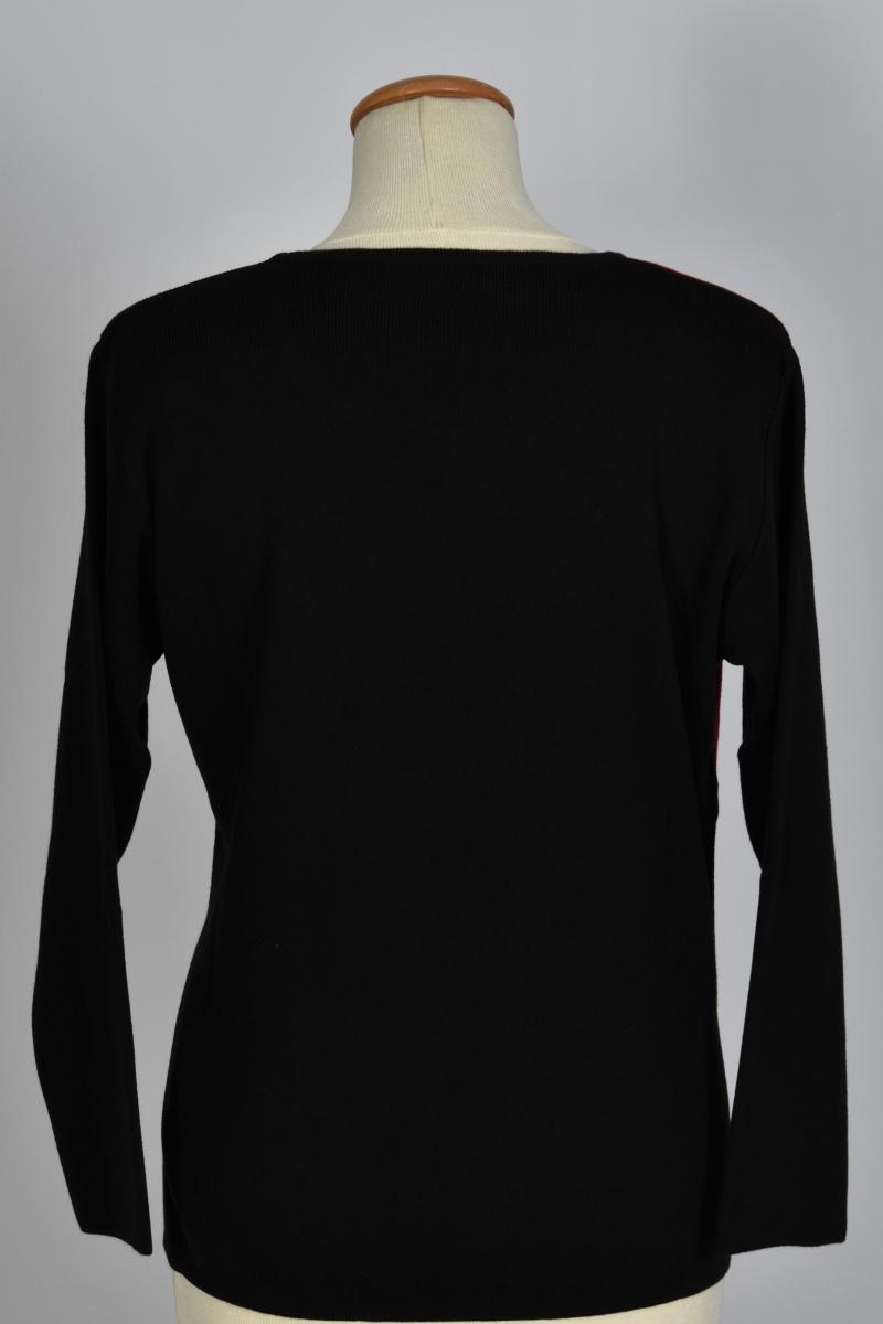 veste cuir mouton titan noire