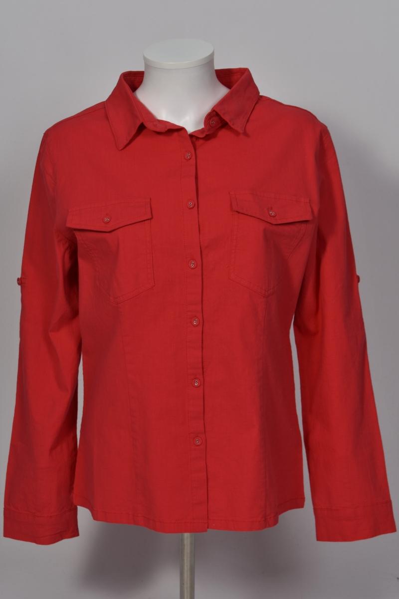 chemise tunique rouge