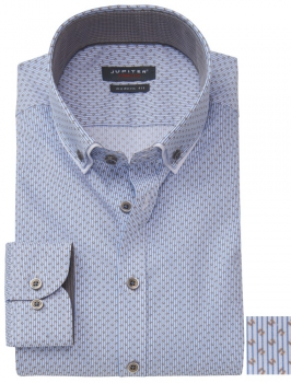 Chemise Print sans repassage modern fit Button Down