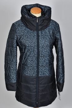 manteau bicolore