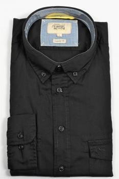 chemise camel noire